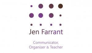 Jen Farrant Logo | 1348design.com