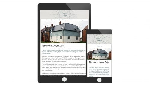 Responsive Website Design For A Holiday Home In Filey North Yorkshire
