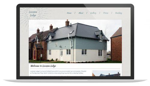 Bespoke Holiday Home Website Design