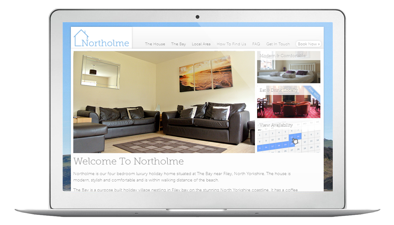 Northolme Website Home Page | 1348design.com