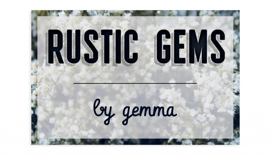 Rustic Gems by Gemma - Business Card | 1348design.com