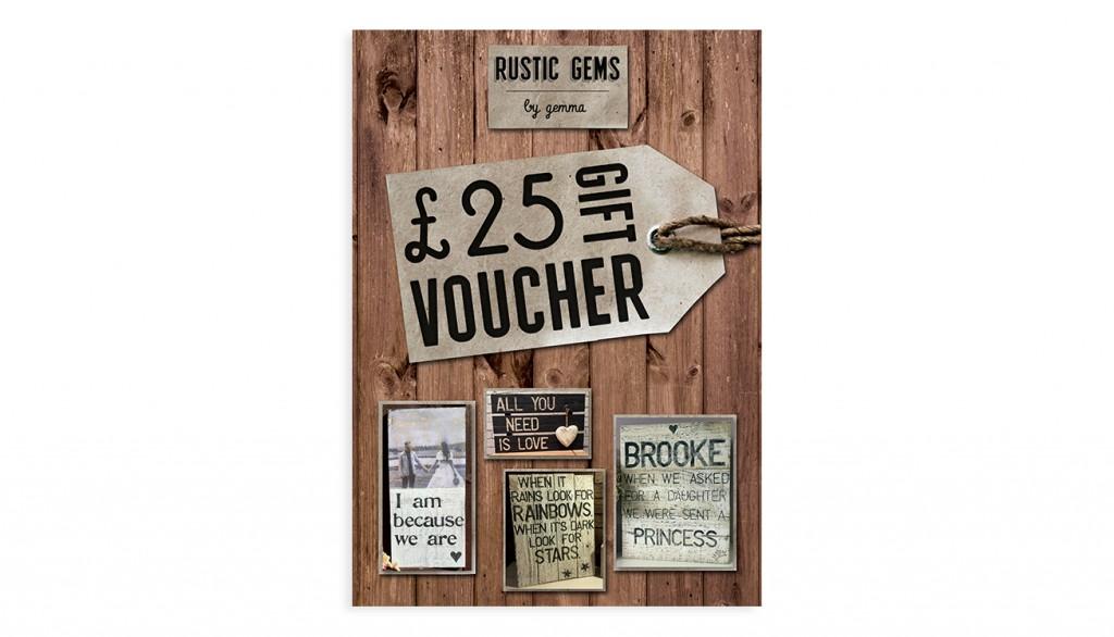 Rustic Gems by Gemma - Gift Voucher | 1348design.com
